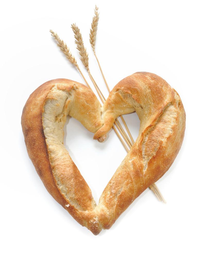 Srdce z pečiva